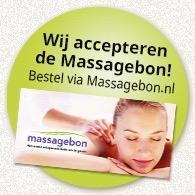 Massagebon via www.massagebon.nl